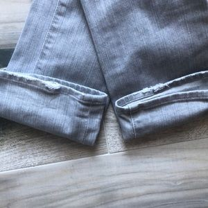 7 For All Mankind Jeans - 7 For All Mankind Gray Roxanne Jeans